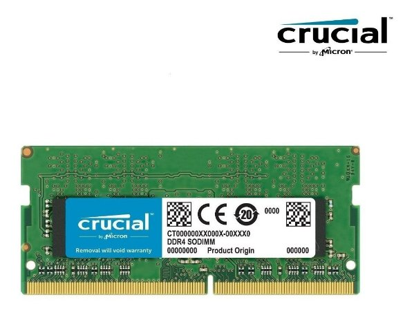 Memória Notebook Crucial Ddr4 8GB 2400Mhz CT8G4SFS824A