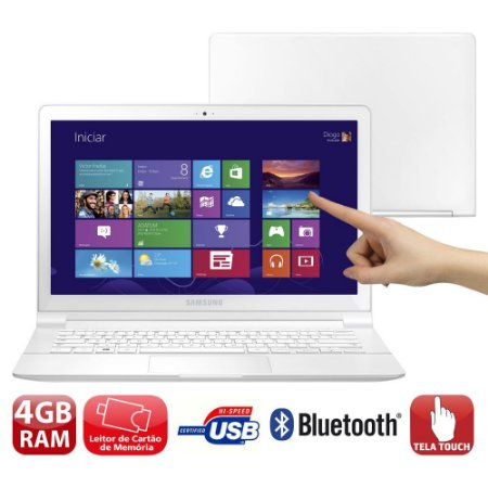 Ultrabook Samsung ATIV Book -Mem 4gb| Quad Core| Ssd32 Touchscreen