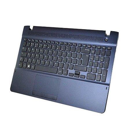 Teclado Com Base Notebook Samsung Np275e4e-kd2br Np270e4e-kd4br | Abnt2