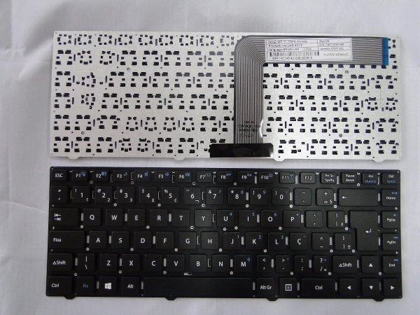 Teclado Notebook Positivo Mod- MP-11J78PA-F51kw PN 82r-14c248-4214 XR2998 XR3000 XR3008 W