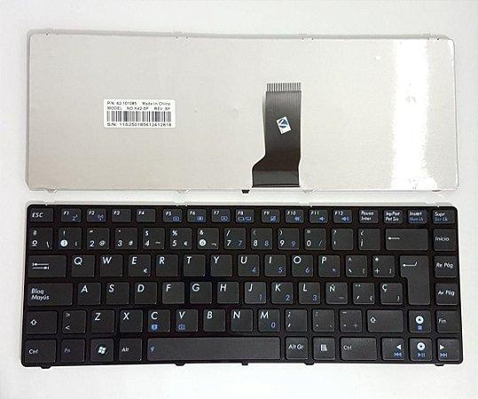 Teclado Notebook Asus Pn/ Okm-mf1us13 Asus K42 A42 X43 X44 X45 UL30