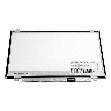 "Tela Notebook Display Led 14.0"" Slim - Boe HB140WX1-301- 30 pinos"