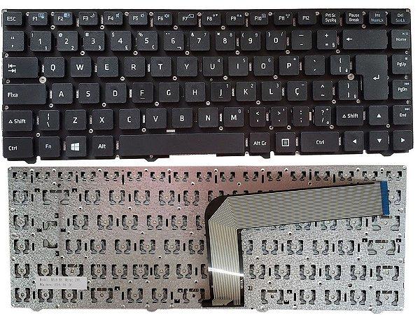 Teclado do Notebook Sim+ P/N 82r-14e238-4211