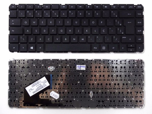 Teclado Notebook HP Pavilion 14-B -Black - Br - Flat Normal