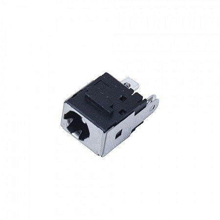 Plug Conector DC053 Jack Toshiba L640 - 5.5x2.5 0 - Sem Cabo