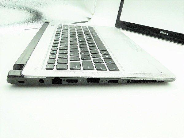 Carcaça Base com Teclado Inferior do Notebook Philco 14I