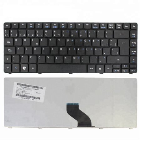 Teclado Notebook Acer 3810t 4810t P/n:Mb301-001Padrao Abnt2