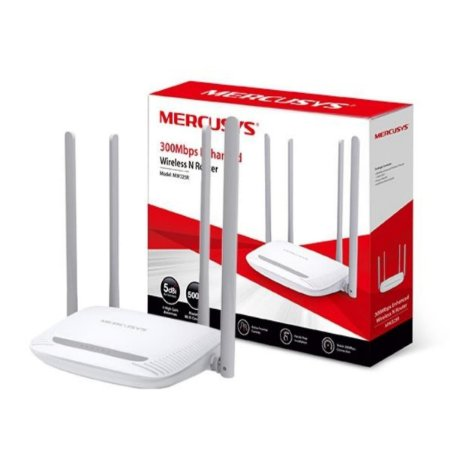 Roteador Mercusys Router MW325R 300MBPS Wifi N 4 Antenas de 5DBI