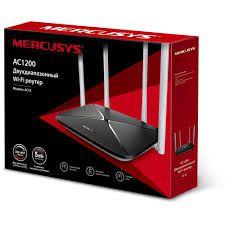Roteador Wireless Mercusys AC12 AC1200 4 Lan-1 Wan Dual Band com 4 Antenas