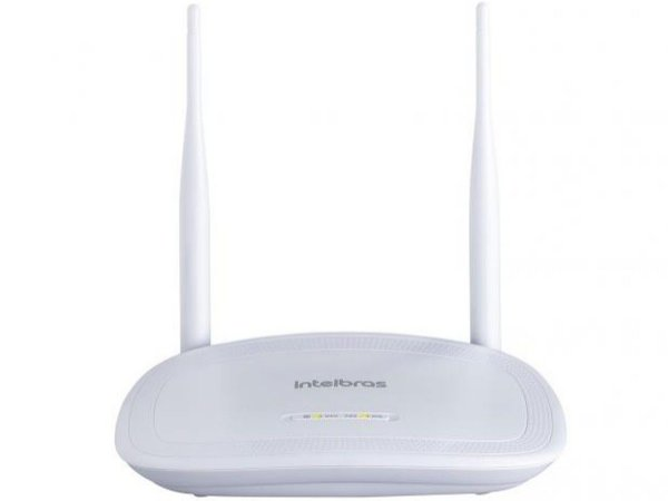 Roteador Wireless Intelbras IWR 3000N 300mbps - 2 Antenas 4 Portas
