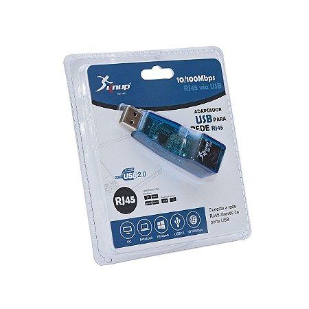 Adaptador Usb para Rede Rj45 10/100Mbps Sknup Hb-t66