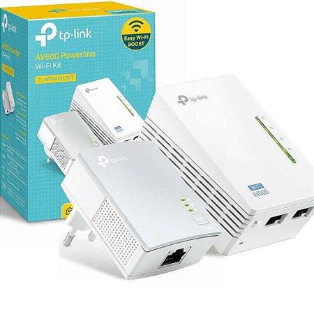 Kit Extensor Wireless Powerline Tp-Link TL-Wpa4220