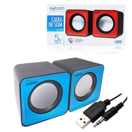 Kit Caixa de Som Bateria Portatil Mouse