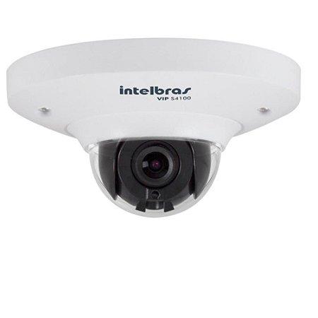 Câmera IP Intelbras VIP S4100 Teto e Parede Disco