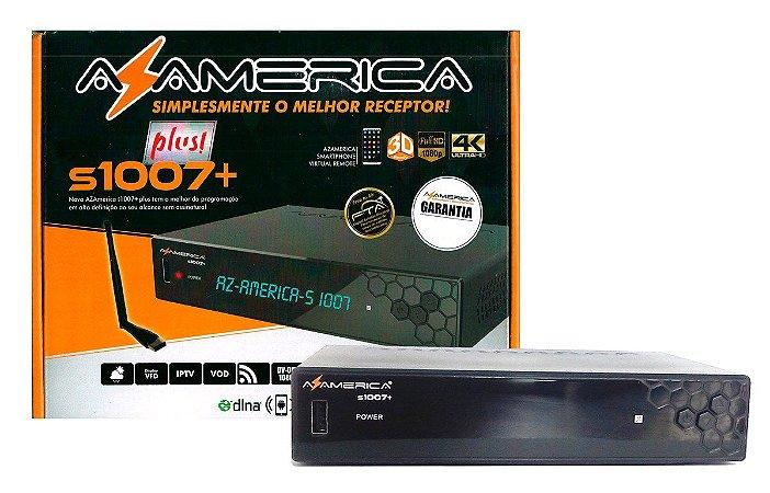 Receptor Digital Az-America S1007 Plus Ultra HD 4K Iptv Iks Vod