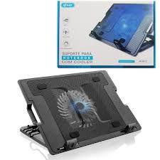 Base Suporte Para Notebook Com Cooler E Iluminação Kp-9013 - Knup