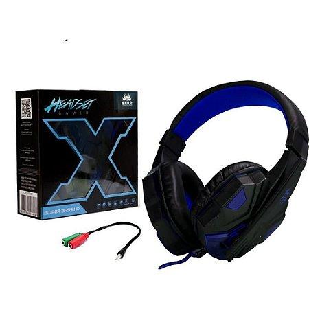 Headfone Headset Gamer Com Microfone KNUP KP-397