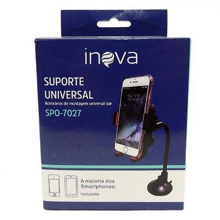 Suporte Universal Veicular Celular Para-Brisa Inova Spo- 7027