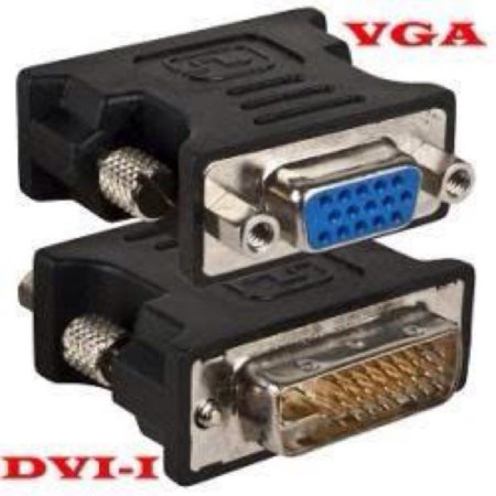 Adaptador Dvi-M x Vga-F Dvi-D 24+1 Pinos