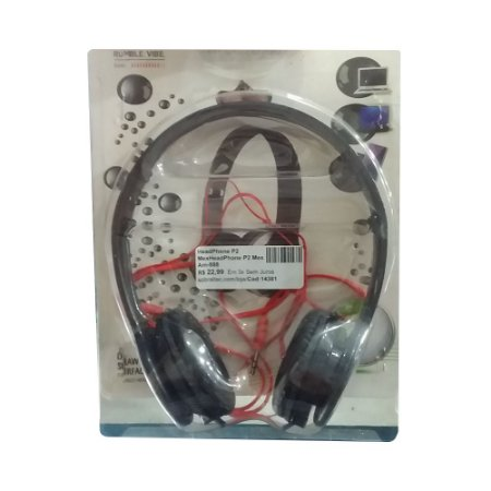 HeadPhone P2 Mex P2 Mex Am-888