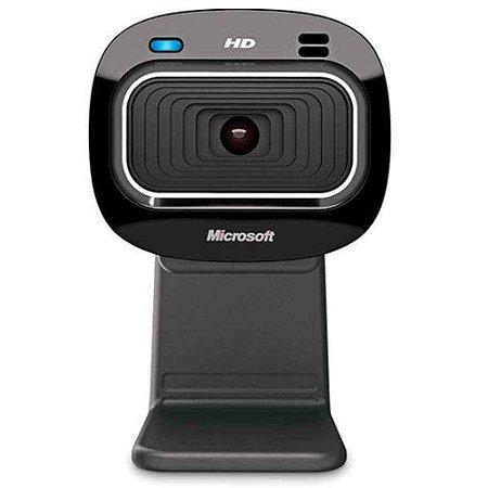 WebCam Microsoft LifeCam HD-3000 Widescreen Com Microfone Integrado- T3H00011