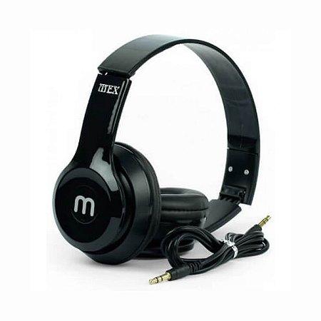 Fone De Ouvido Headphone Mex AM-866F P2 Para Celular E Computador