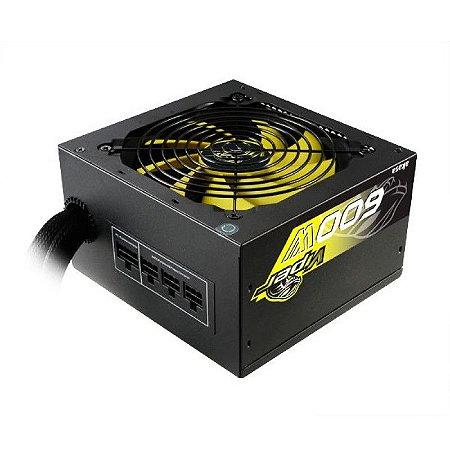Fonte ATX Real 600W Akasa 80 Plus Bronze Viper Power (PFC Ativo) (Modular) (AK-PA060AF07M)