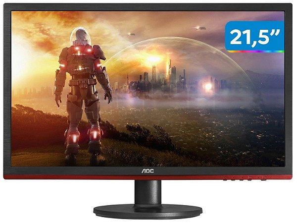 Monitor Gamer AOC Speed LED 21.5´ Widescreen Full HD, HDMI/VGA/Display Port FreeSync, 1ms - G2260VWQ6