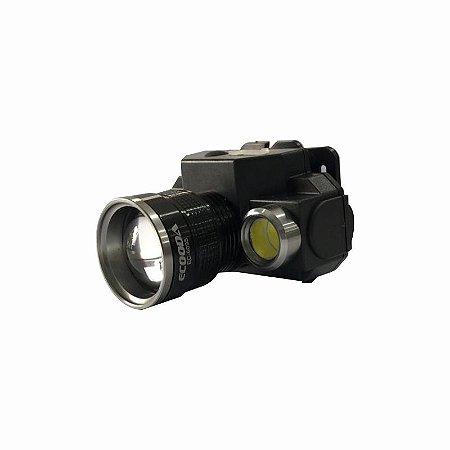 Lanterna De Cabeça Farol Recarregável Ecooda Ec-6095