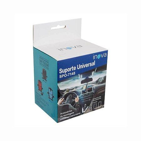Suporte Universal Veicular Homem De Ferro Para Celular Inova Spo-7148