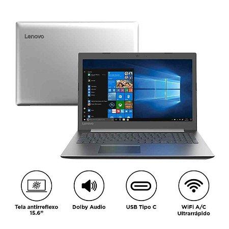 "Notebook Lenovo Ideapad 330 Intel® Core i3-7020U 4GB HD 1TB 15.6"" Windows 10 Home"