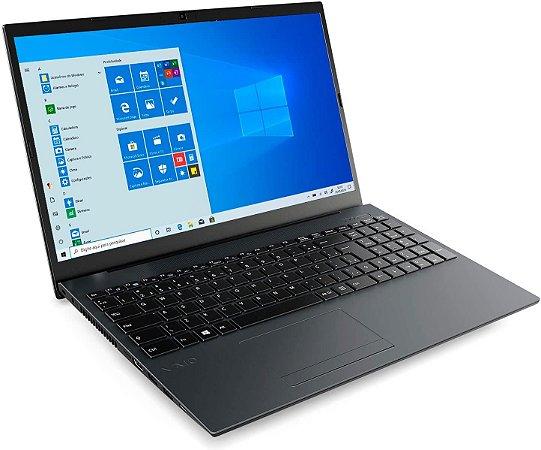 "Notebook VAIO Core i3-8130U 4GB 1TB Tela 15.6"" Windows 10 FE15 VJFE51F11X-B0111H"