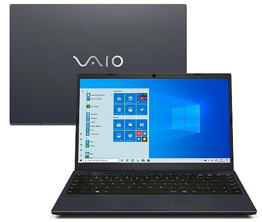 "Notebook VAIO Core i3-8130U 4GB 1TB Tela Full HD 14"" Windows 10 FE14 VJFE41F11X-B0411H"