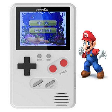Mini Video Game Retro Portatil Sup 500 Jogos Na Memoria Wanle