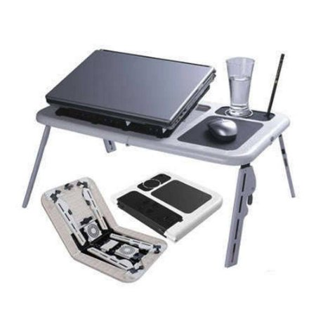 Mesa Com Cooler Para Notebook Mtn-888 Com Sensor Touch Tomate