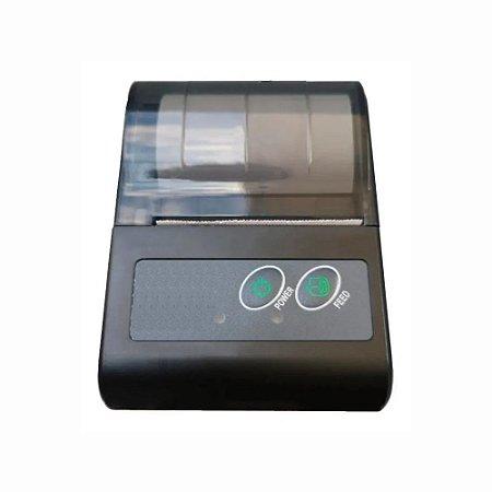 Mini Impressora Térmica Bluetooth Compativel Android/iOS 58mm Ourotec MTP-II