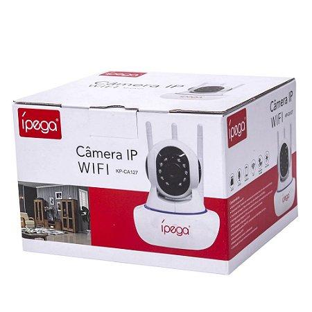 Camera Ip Wifi 360 Graus Com Visão Noturna e Microfone Ípega KP-CA127