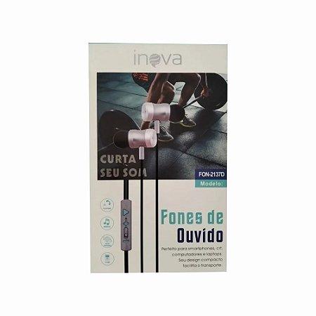 Fone De Ouvido Inova Fon-2137D
