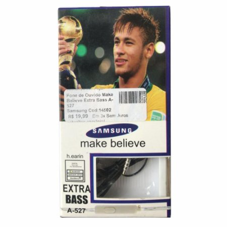 Fone de Ouvido Make Believe Extra Bass A-527 Samsung