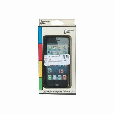 Case Tpu Para Iphone 5 Preta
