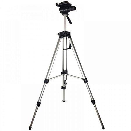 Tripé De Alumínio Para Câmera Profissional Com Nível Bolha 1.8M Xtrad FF-0017