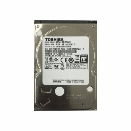 Hd Int. Notebook Toshiba 500 Gb 5400 Rpm 8mb MQ01ABD050V