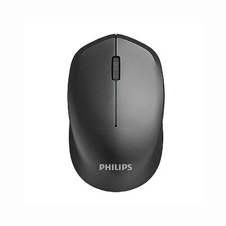 Mouse Sem Fio Tecnologia RF 2,4GHz Sensor Óptico 3 Botões de Função Philips SPK7344