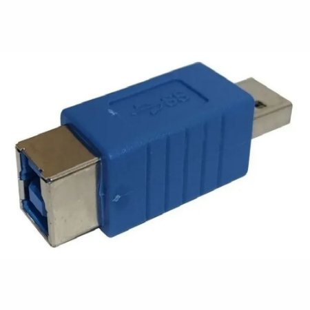 Emenda Adaptador Usb x Usb Impressora Azul Tomate Mhc-5211