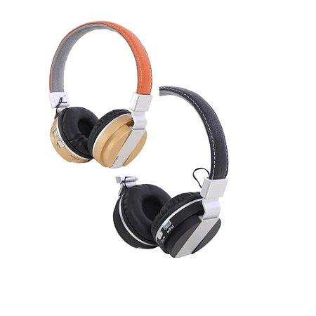 Headphone Bluetooth Entrada Para Cartão Sd Entrada De Áudio Boas Lc-9300