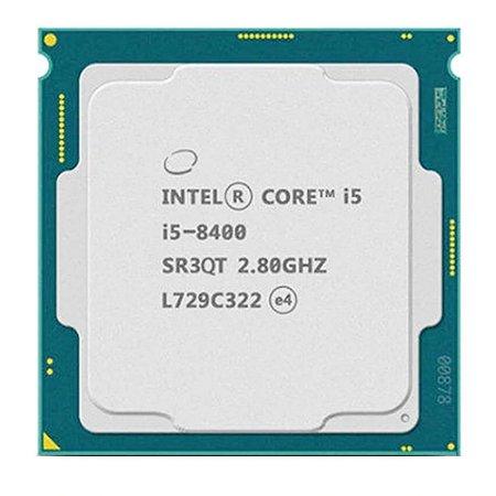 Processador Intel Core i5-8400 i5 8400 2.8 Ghz Seis-Núcleo de Seis linhas 9 m 65 w lga 1151-