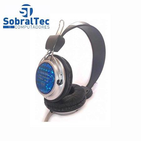 Fone Headphone Com Microfone Fancong Hi-fi Fc-915m.v