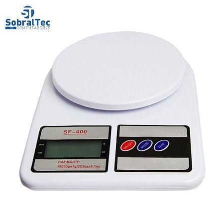 Balança Digital LCD De Alta Precisão Eletrônica Até 10 Kg Sf-400