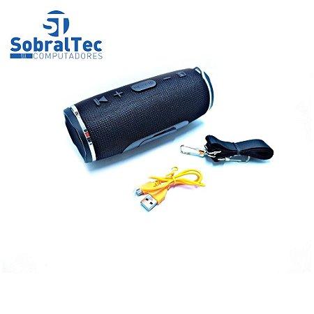 Caixa De Som Bluetooth 15W Portátil Entrada Usb, Sd e Aux Charge 3 Mini M-4295