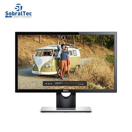 """Monitor Full HD 21,5"""" Widescreen LED Vga Hdmi Dell SE2216H Preto"""
